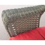 7 Piece Veranda Resin Wicker Set with 1-Rocker & 1-Chair - DETAIL, VERANDA ARM