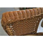 Veranda Resin Wicker Loveseat With Seat Cushion - DETAIL, VERANDA ARM