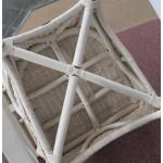 7 Piece Natural Wicker Dining Set Diamond Oval - CHAIR BOTTOM