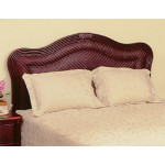 Del Ray Twin Rattan Headboard - COFFEE