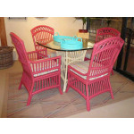 Cottage Dining Set With 4 Side Chairs -