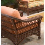 Sea Harbor Natural Wicker Lounge Chair -