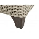 Lane Venture Requisite Resin Swivel Glider Lounge Chair - ALUMINUM-FEET