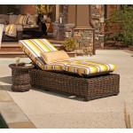 Lane South Hampton Resin Wicker Adjustable Chaise Lounge -  TUSCAN BROWN FINISH