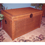 Wicker Trunks or Chests, Large - TEAWASH