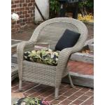 Malibu Resin Wicker Chair - DRIFTWOOD