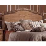 Montego Bay 39 Twin Wicker Headboard, Chestnut -