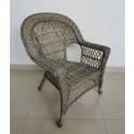 Madrid Resin Wicker Chair  - DRIFTWOOD