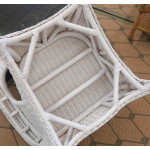 Naples Natural Wicker Rocking Chair. High Back - CHAIR BOTTOM