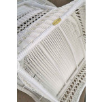 Palm Springs Resin Wicker Rockers, White -