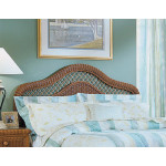 Pavilion King Wicker Headboard - TEAWASH