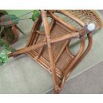 Savannah Rattan Dining Side Chair (3 colors) - BOTTOM-VIEW