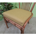 "3 Piece Coronado Rattan Dining Set 36:"" (Side Chairs) Brand New 3 Colors - SP-3741 FABRIC"