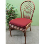 Savannah Rattan Dining Side Chair (3 colors) - TEAWASH