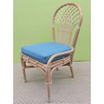 Savannah Rattan Dining Side Chair (3 colors) - WHITEWASH