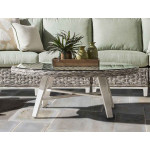 Canyon Lake Resin Wicker Oval Cocktail Table (Not Sold Alone) - GRANITE