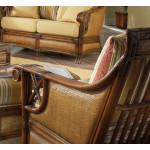 Saint Helena Rattan Chair  - WALNUT