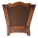 Natral Rattan Lounge Chair, Aloha - BROWN WASH-REAR