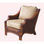 Natral Rattan Lounge Chair, Aloha - BROWN WASH