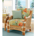 Natral Rattan Lounge Chair, Aloha - NATURAL