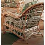 Mariner Natural Rattan Wicker Chair  - NATURAL-REAR