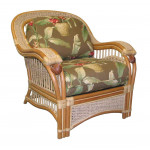 Mariner Natural Rattan Wicker Chair  - NATURAL
