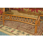 Old Town Natural Rattan Cocktail Table - CINNAMON