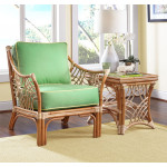 South Pacific Natural Rattan Chair  - NATURAL