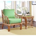 South Pacific Natural Rattan Chair  - NATURAL