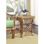 South Pacific Natural Rattan End Table - NATURAL
