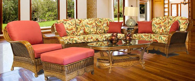 Casa Blanca Natural Rattan Furniture Sets