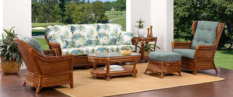 South Shore Rattan Furniture Set